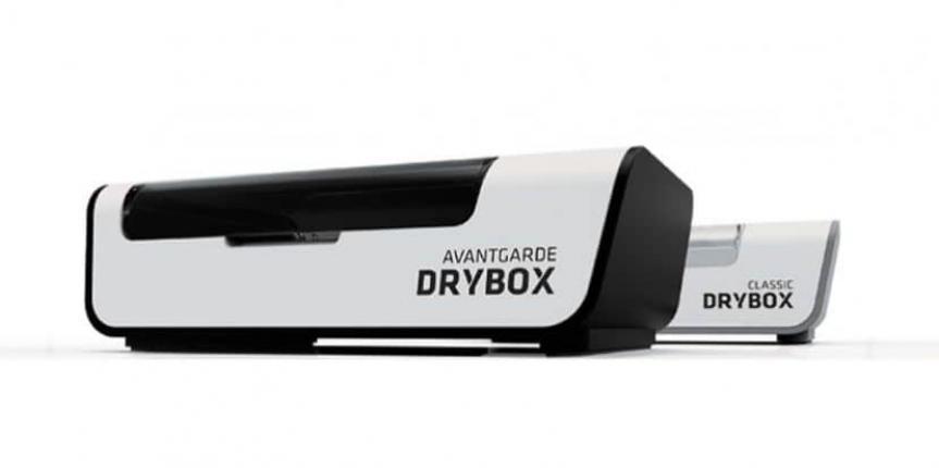 Ansicht einer Avantgarde Drybox zur Trocknung der Hörgeräte