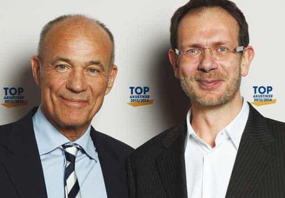 Heiner Lauterbach mit Dirk Hornig